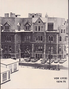 Yearbook - 1974-75 Lisgar Collegiate - Ottawa ON