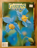 Back issues of Gardens West magazine