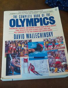 Complete Book of the Olympics, David Wallechinsky, 1988 Kitchener / Waterloo Kitchener Area image 1