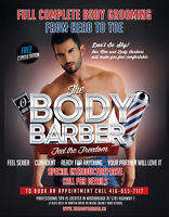 The Body Barber - Men's Body Grooming - Trimming