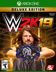 WWE 2k19 Deluxe Edition Xbox1