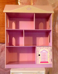 Girls doll house bookcase