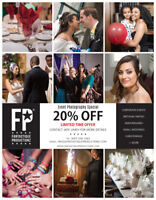 20% Off Event Photography