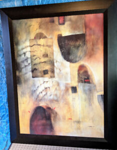 """Contemporary framed art - by Renwil: 41""""x56"""" (large piece)"""