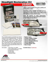 HEADLIGHT RESTORATION KITS FROM TECHNICIANS CHOICE FROM CHICAGO
