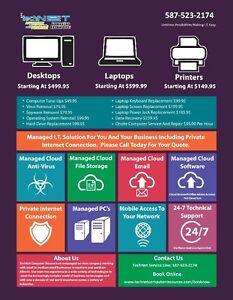 ▓▓ PC Repair, Laptop Repair $49.99 Call 587-523-2174