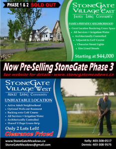 StoneGate Meadows-A Golf Course Community