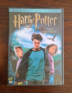 DVDs Harry Potter et le prisonnier d'Azkaban / and the Prisoner