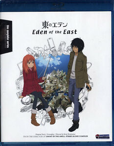 Eden of the East - NEW Blu-Ray - anime