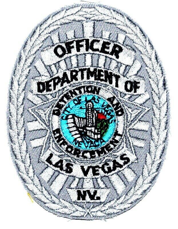 "LAS VEGAS = DETENTIONS ENFORCEMENT - NEVADA NV Sheriff Police Patch OFFICER 4"" ~"