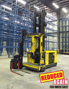 Hyster Turret Man -up Forklift V35ZMU /Unit H37 FURTHER REDUCED