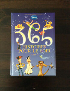 Grand livre pour enfant. Disney 365 Histoires pour le soir,neuf,