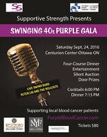 Swinging 40s Purple Gala