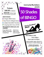"Laughs, Giggles and more Laughs at ""50 SHADES OF BINGO"""