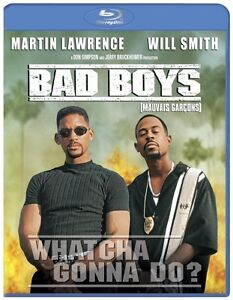 BAD BOYS Blu Ray with Slip Cover