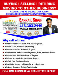 Expert in Buy & Sell Commercial Businesses