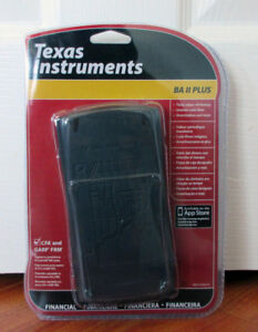 TEXAS INSTRUMENT BA II PLUS FINANCIAL CALCULATOR FOR SALE