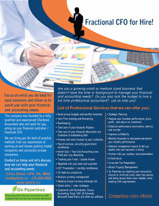 Chartered Accountant / Controller / Fractional CFO for Hire Kitchener / Waterloo Kitchener Area image 2