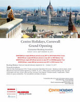 Centre Holidays Grand Opening!