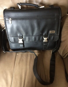 """APC Leather Laptop Bag for 15.4"""""""