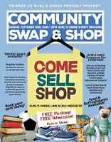 THIS SUNDAY! Community Swap & Shop at Burl's Creek