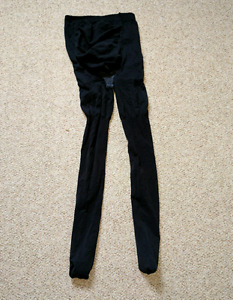 Footed maternity tights