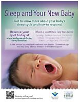 Find out what your baby (under 3 months) tells you about sleep!