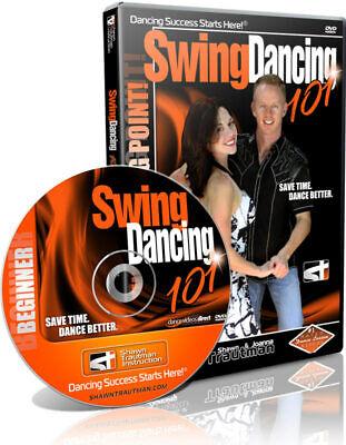 New! Swing Dancing 101 Dance Video Trautman East Coast Beginner Dance DVD - East Coast Swing Video