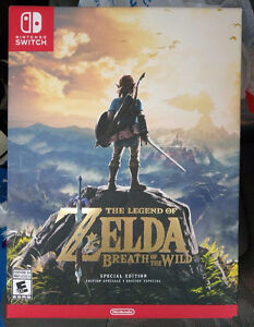 BRAND NEW, SEALED Zelda Breath of the Wild Special Edition