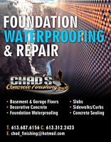 Foundation Waterproofing & Repair
