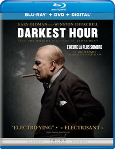 THE DARKEST HOUR. L'HEURE LA PLUS SOMBRE. BLURAY. CHURCHILL. WW2