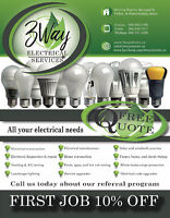 3 Way Electrical Services - Full service electrician