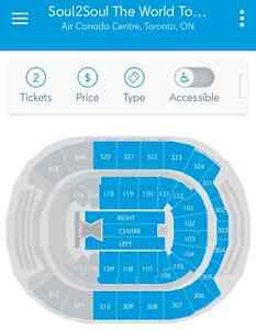 4 tickets Soul2Soul (Tim McGraw & Faith Hill) Toronto June 23 Sarnia Sarnia Area image 2