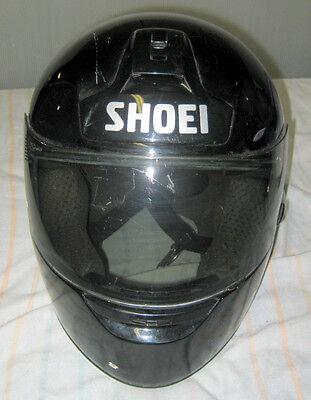 2406d13f Shoei RF-800 Black XL Motorcycle Helmet w/ Shoei CX-1 Face-shield