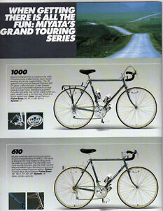 Miyata 1000 Touring Bike 1985
