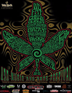 2 tickets to 420 music and arts festival