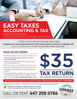 $30 Tax Return  **Cheapest Personal Income Tax In Durham**
