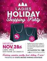 Ladies holiday Shopping Party