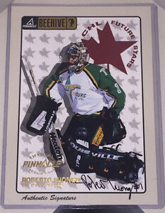 1999 Autographed Roberto Luongo Rookie Card