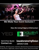 Exclusive Entertainment YEG ( Edmonton's Premiere Dj Service)
