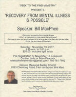 Recovery From Mental Illness Is Possible
