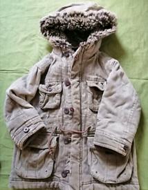 Boys Monsoon winter coat 3-4 years