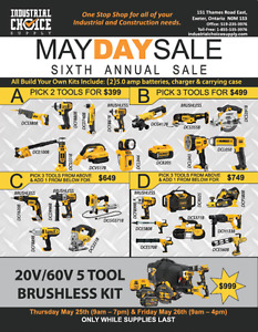 Industrial Choice Supply MAY DAY SALE!