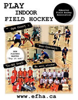 Come Try Indoor Field Hockey!