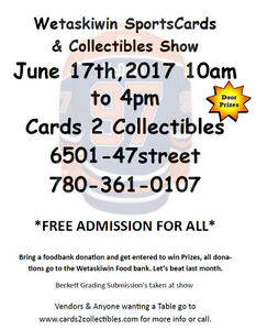 Sat June 17th Father's Day Weekend Sports Card Show Great Deals