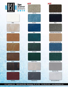 Hot Tub Cover - Charcoal Colour