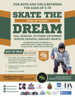 Boys and Girls Club Skate the Dream Program