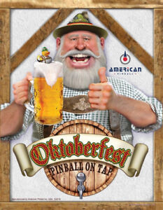 "OKTOBERFEST ""Pinball On Tap"" distributed by NITRO PINBALL"