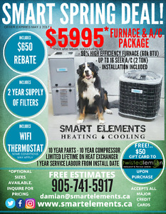 FURNACE & A/C PACKAGE DEAL!!