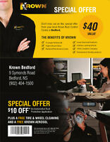 $10 off Krown and your tires and rims cleaned.